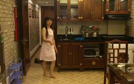 Cho thuê CH chung cư Lý Nam Đế 75m2, 1 khách, 2 PN, đủ tiện nghi thang máy giá 13tr/th