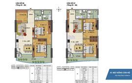 Cho thuê căn hộ 3PN chung cư Tràng An Complex, số 1 Phùng Chí Kiên