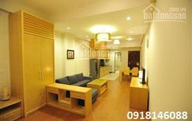 Cho thuê căn hộ dịch vụ đủ nội thất ở mặt hồ Ba Mẫu